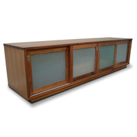 Hamilton Blackwood TV Stand Entertainment Unit 2.2m