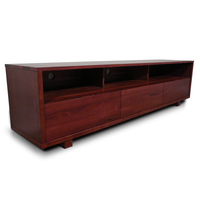 Manhattan Jarrah TV Stand Entertainment Unit 2.0m
