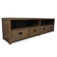 Barossa Oak Lowline TV Stand Entertainment Unit