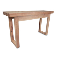Bondi Tasmanian Oak Wooden Console Hall Table 1.35m