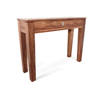 Hamilton Blackwood 1 Drawer Wooden Hall Table 1.0m