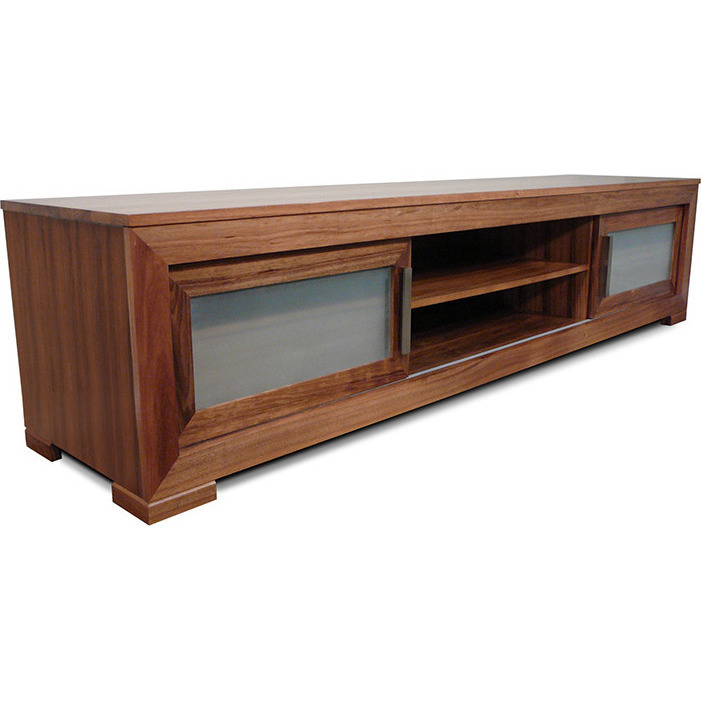 Macedon Blackwood TV Stand Entertainment Unit 24m