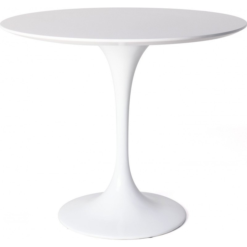 Replica Saarinen Tulip Dining Table In White 90cm Buy Round Dining Tables