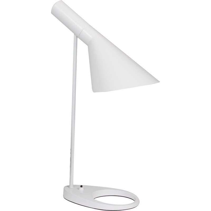 Do Salt Lamps Run Out : Replica Arne Jacobsen Table Desk Lamp in White 60W Buy Desk Lamps