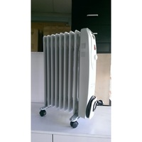9 Fin Adjustable Column Oil Heater - 2000w