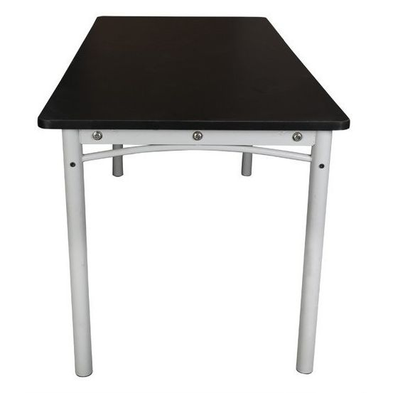 Laminate amp Metal Dining Table in Black amp Grey 165m Buy  : 301031402 from www.mydeal.com.au size 553 x 553 jpeg 12kB