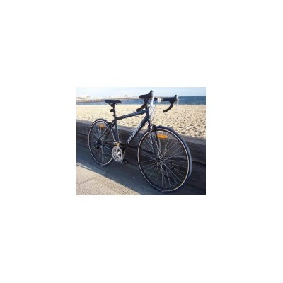 Studds 100 XL 12 Speed Drop Bar Road Bike in Black
