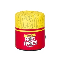 Woouf Poly Fries Frenzy Bean Bag w/ Removable Cover