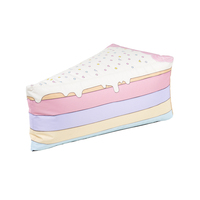 Woouf Rainbow Cake Bean Bag with Removable Cover