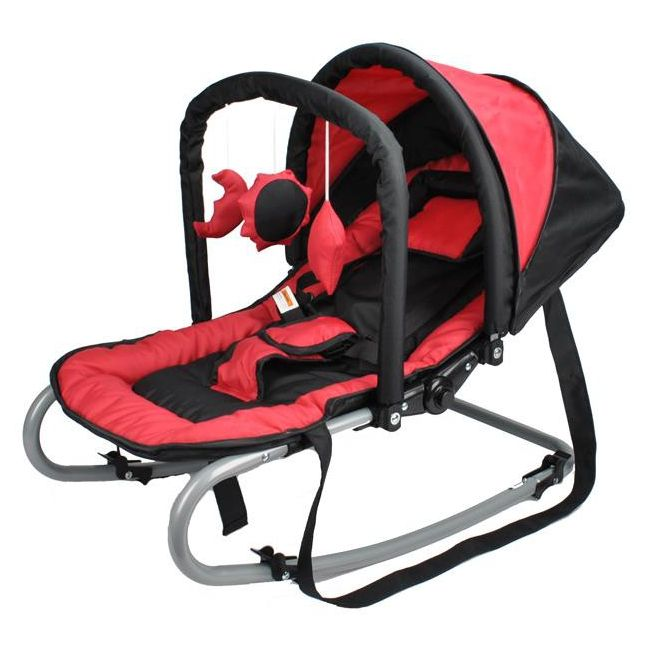 Harmony New Born Baby Rocker With Canopy In Red Buy Baby