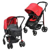Innova 2 in 1 Convertible Baby Stroller in Red
