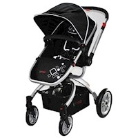 Aussie Baby Pram w Reverse Handle & Detachable Seat
