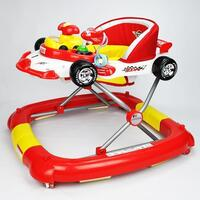 Red Race Car Baby Walker  Rocker or Activity Centre