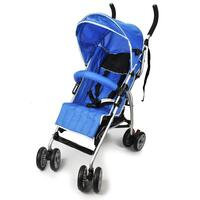 Foldable Reclining Aussie Baby Stroller in Blue