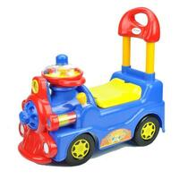 Kids Push & Pull Locomotive Ride On Car in Blue
