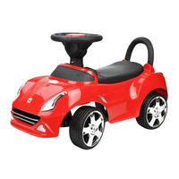 Kids Super Race Ride On Car with Storage in Red