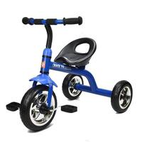 Grow With Me Kids Tricycle with Wide Wheels in Blue