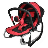 Harmony New Born Baby Rocker with Canopy in Red