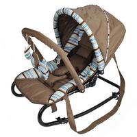 Harmony New Born Baby Rocker with Canopy in Coffee