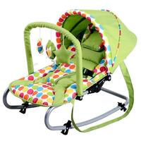 Harmony New Born Baby Rocker w/ Canopy in Green