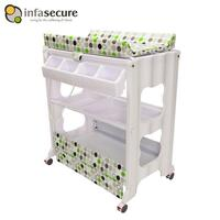 Infa Secure Cosmo Baby Bath and Change Centre Green