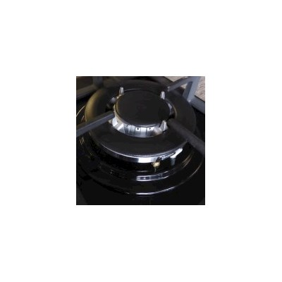 4 Burner Natural Gas Glass Cook Top in Black 60cm