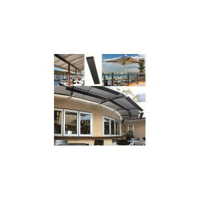 Indoor Outdoor Electric Radiant Strip Heater 1800W