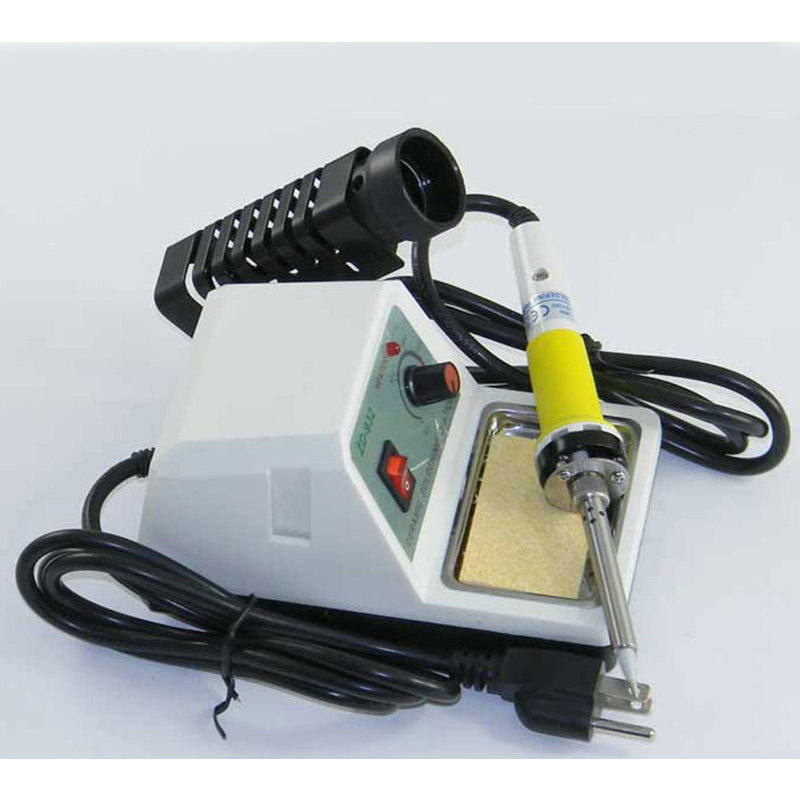 temperature controlled soldering iron station 60w buy tools equ. Black Bedroom Furniture Sets. Home Design Ideas