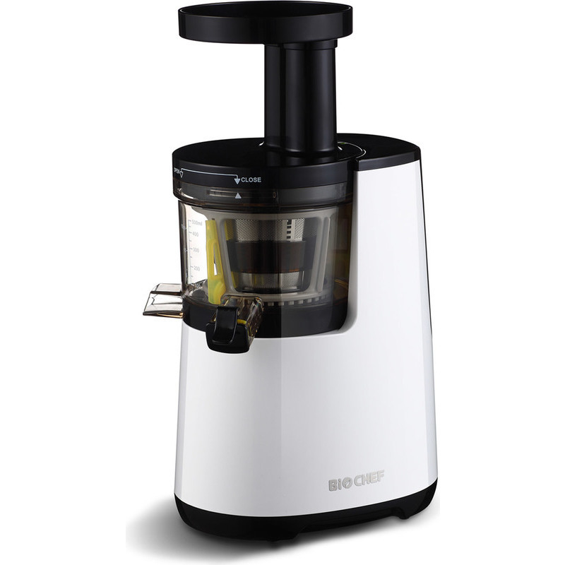 Biochef Axis Compact Cold Press Juicer Reviews : BioChef Atlas Slow Cold Press Juicer in White 150W Buy Kitchen Appliances