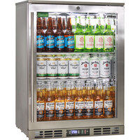 Rhino Right Hinge Heated Glass Door Bar Fridge 129L