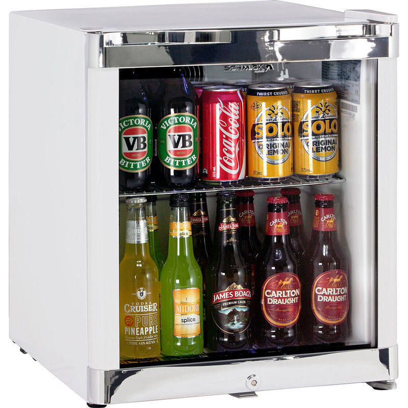 Schmick Tropical Glass Door Bar Fridge In White 50l Buy Bar