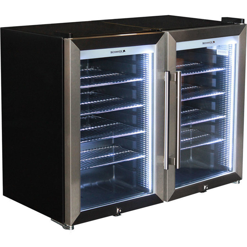 Schmick Alfresco Glazed 2 Glass Door Bar Fridge Buy Bar
