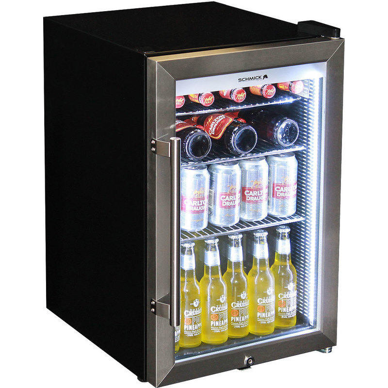 Schmick Brisbane Broncos Glass Door Bar Fridge 70l Buy