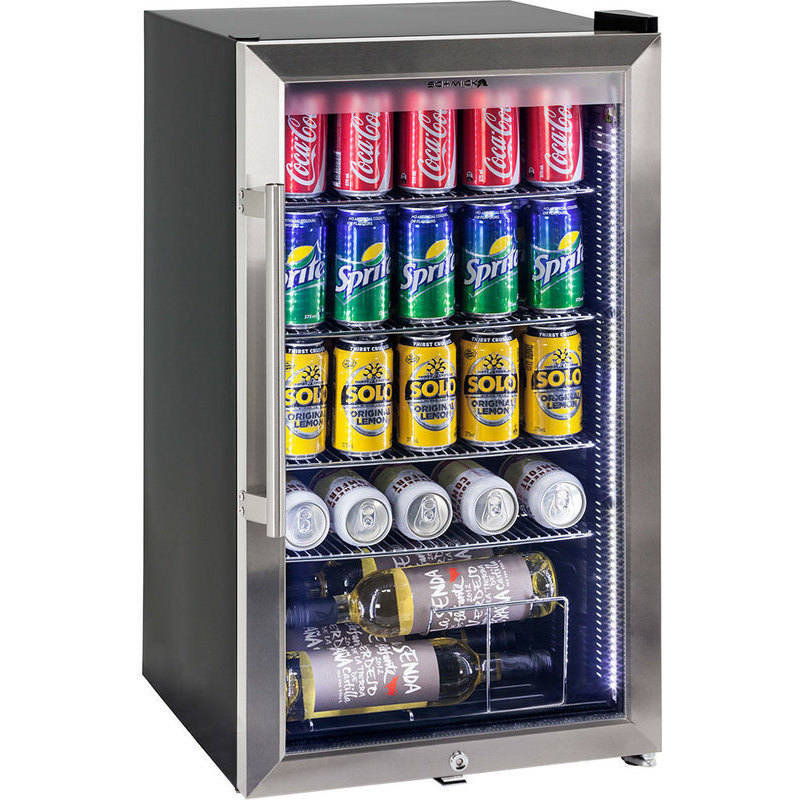 Schmick Alfresco Double Low E Glass Door Bar Fridge Buy Bar