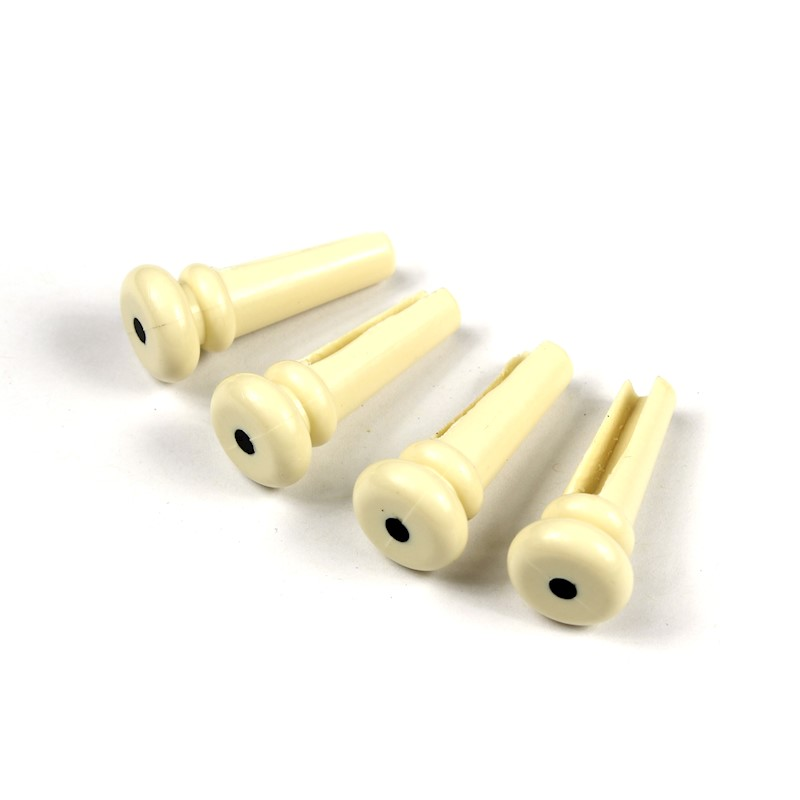 CREAM Set of 4 Bridge Pins For Acoustic Bass NEW
