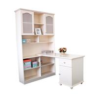 Jasmine Kid's L Shaped Corner Computer Desk Beige