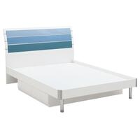 Blue Lover Kid's King Single Bed Frame w/ 2 Drawers