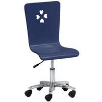 Sailor Kids Gas Lift Swivel Desk Chair in Blue