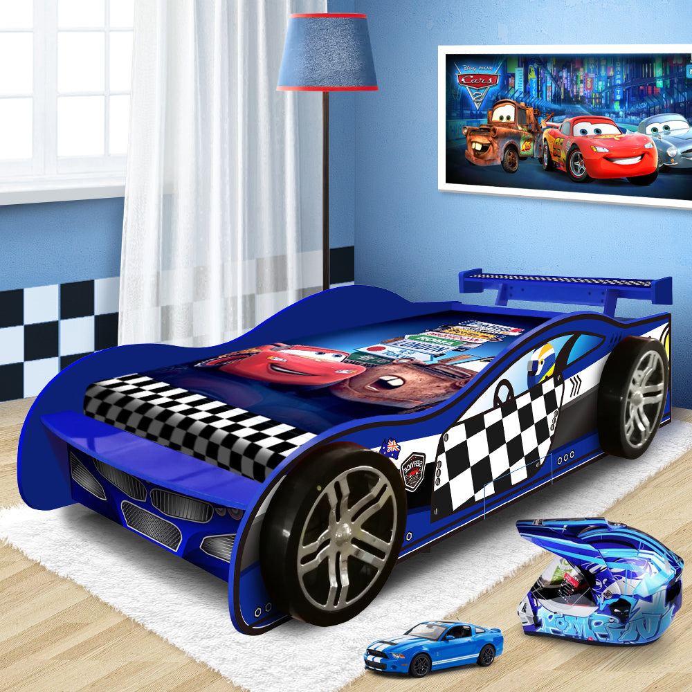2018 Unique Design For Kids Racing Racer Car Night Bed ...