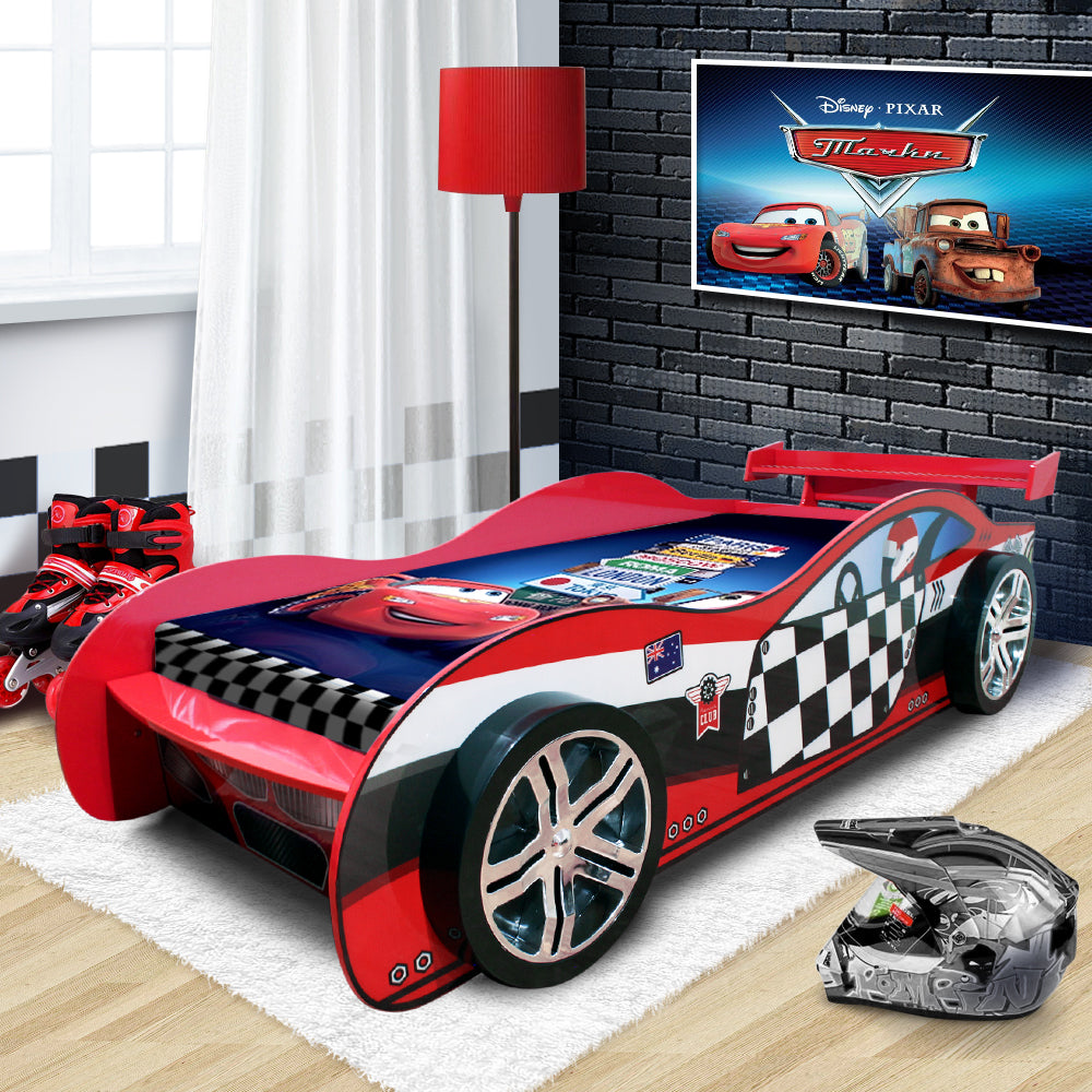 Little Tikes Race Car Bed A Buyer S Guide: 2018 Unique Design For Kids Racing Racer Car Night Bed