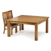Broken Hill Mountain Ash Wooden Dining Table 1.45m