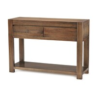 Metro Rustic Mountain Ash Timber Hall Table 1.2m