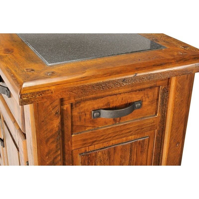 solid wood kitchen island farmhouse solid wood chopping block kitchen island buy 22063
