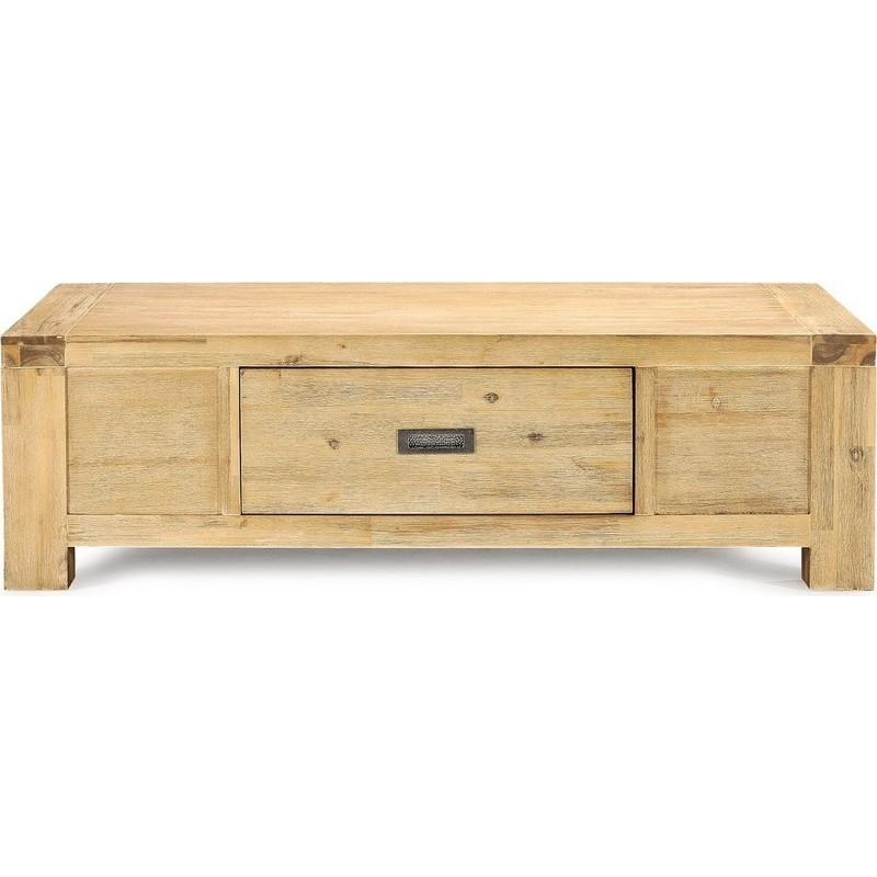 Dakota Solid Brushed Acacia Coffee Table Buy Coffee Tables