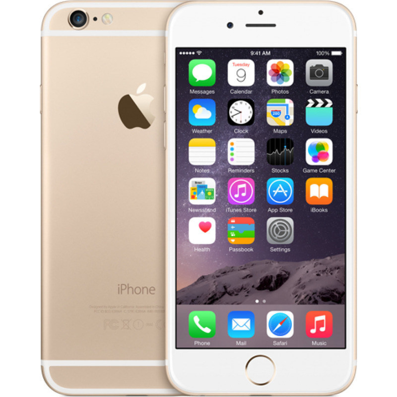 refurbished apple iphone 6 3 colours 16gb unlocked buy. Black Bedroom Furniture Sets. Home Design Ideas