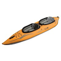Lagoon 2 Person Inflatable Kayak with Bag in Orange