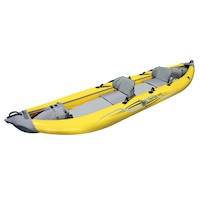 StraitEdge 2 Seat Inflatable Kayak w/ Bag in Yellow