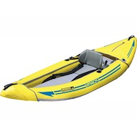 Attack Whitewater Inflatable Kayak w/ Bag in Yellow