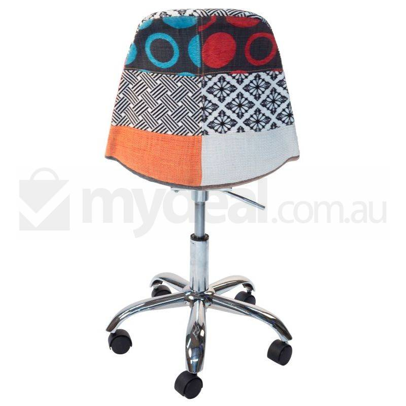 Eames Inspired Dsw Dsr Office Chair In Patchwork Buy