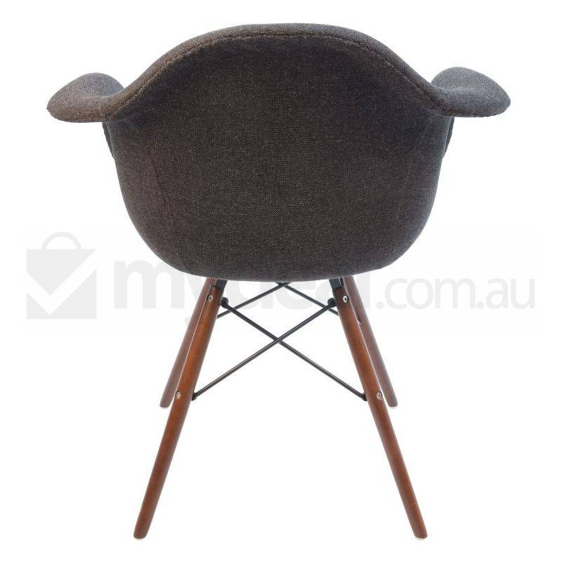 Replica Eames DAW Dining Chair in Charcoal amp Walnut Buy  : SK0116NC8004 from www.mydeal.com.au size 800 x 800 jpeg 47kB